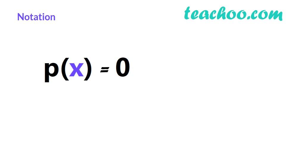Division Algorithm for Polynomials - Part 2