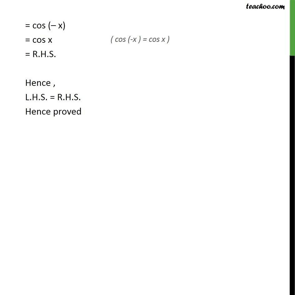 Ex 3.3, 10 - Chapter 3 Class 11 Trigonometric Functions - Part 2