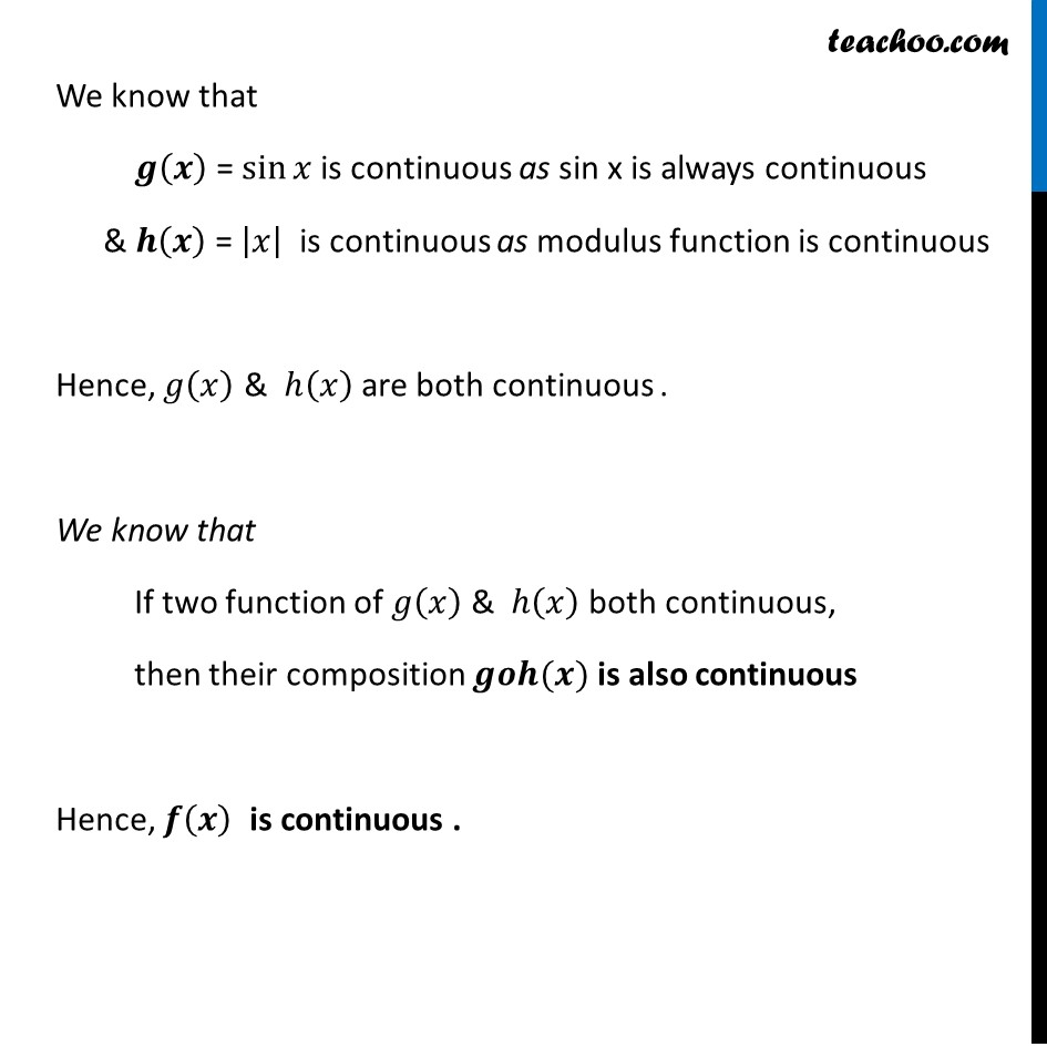Ex 5.1, 33 - Chapter 5 Class 12 Continuity and Differentiability - Part 2