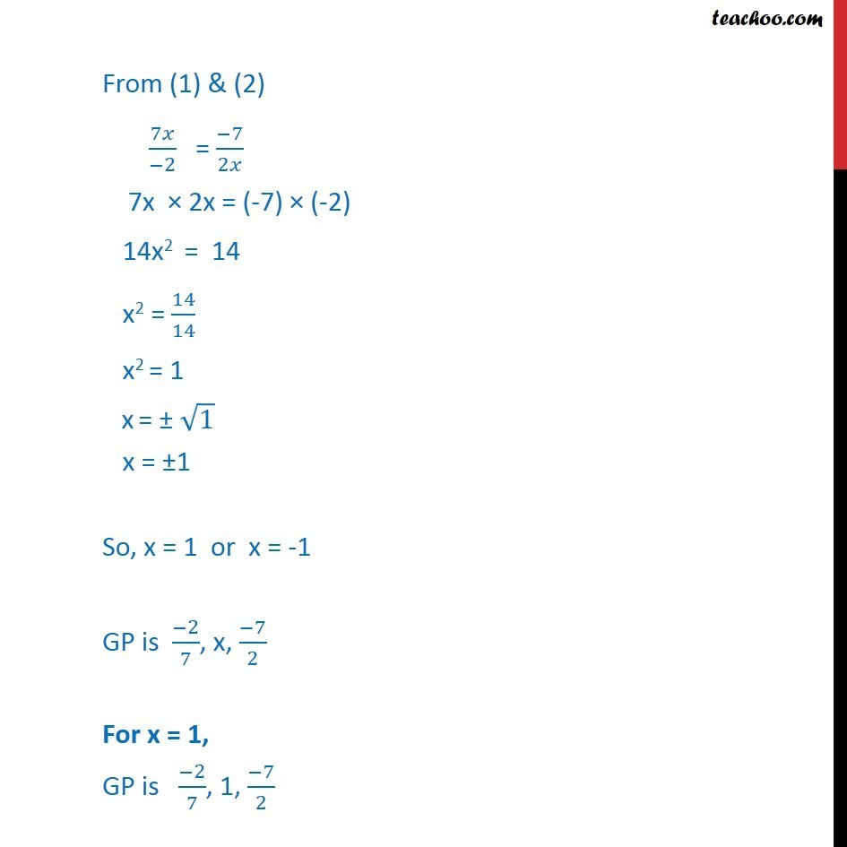 Ex 9.3, 6 - Chapter 9 Class 11 Sequences and Series - Part 2
