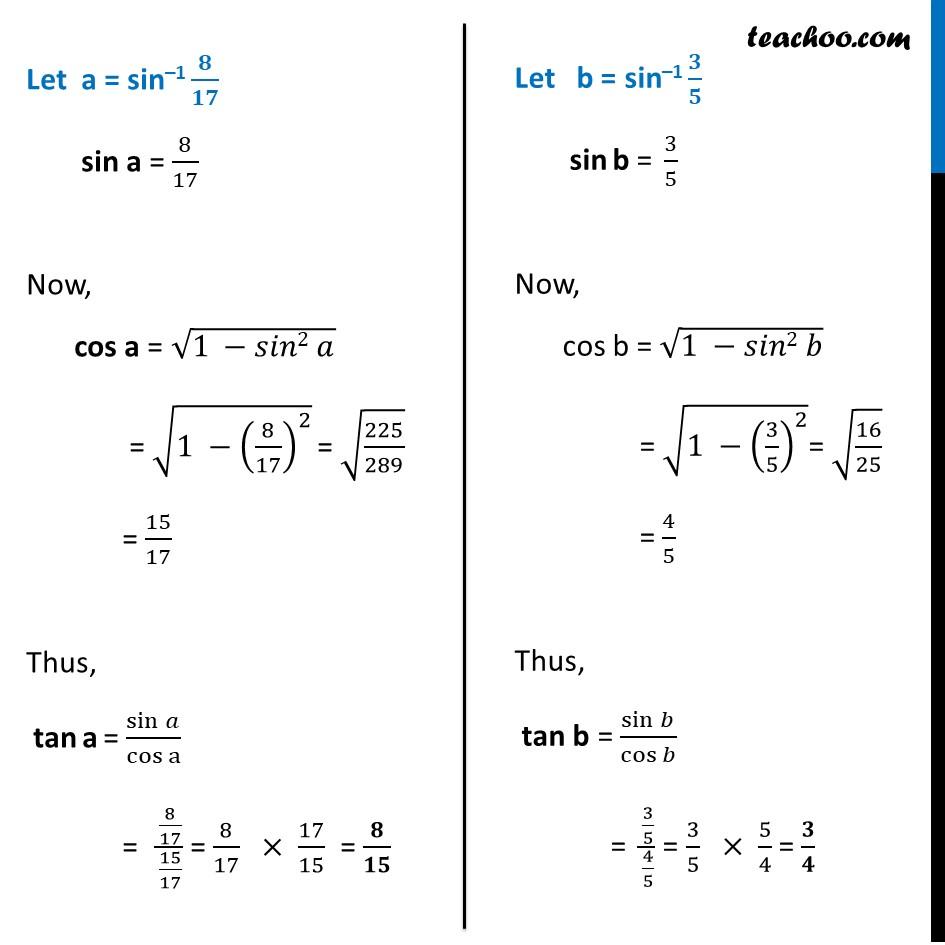 Misc. 4 - Chapter 2 Class 12 Inverse Trigonometric Functions - Part 2