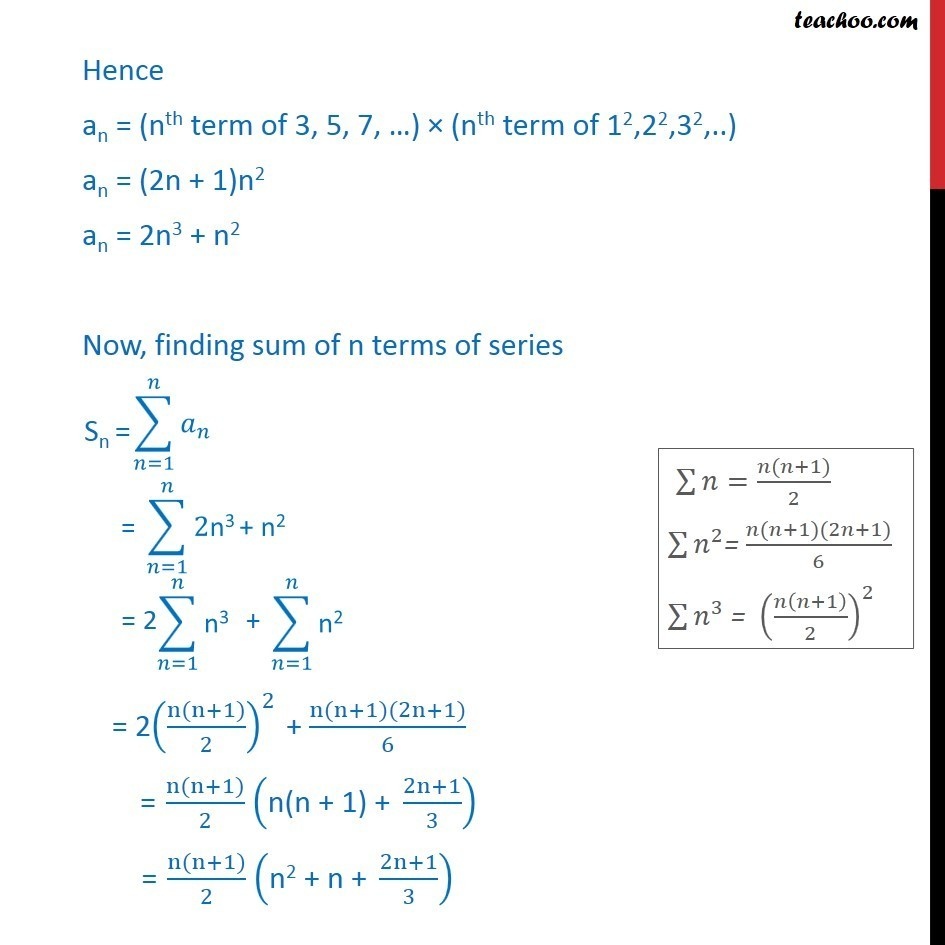 Ex 9.4, 3 - Chapter 9 Class 11 Sequences and Series - Part 2