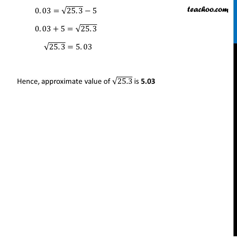 Ex 6.4, 1 (i) - Chapter 6 Class 12 Application of Derivatives - Part 3
