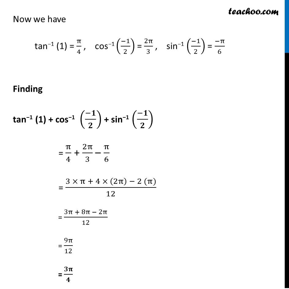 Ex 2.1, 11 - Chapter 2 Class 12 Inverse Trigonometric Functions - Part 8
