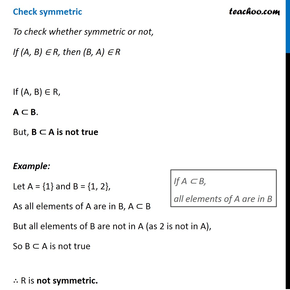 Misc. 8 - Chapter 1 Class 12 Relation and Functions - Part 3