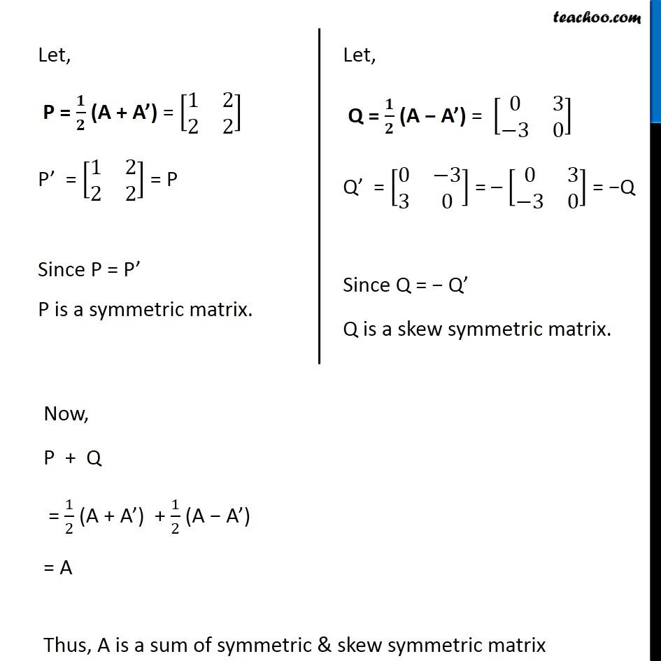 Ex 3.3, 10 - Chapter 3 Class 12 Matrices - Part 11