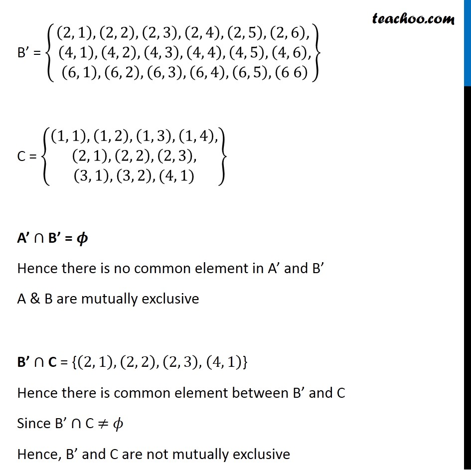 Ex 16.2, 7 - Chapter 16 Class 11 Probability - Part 12