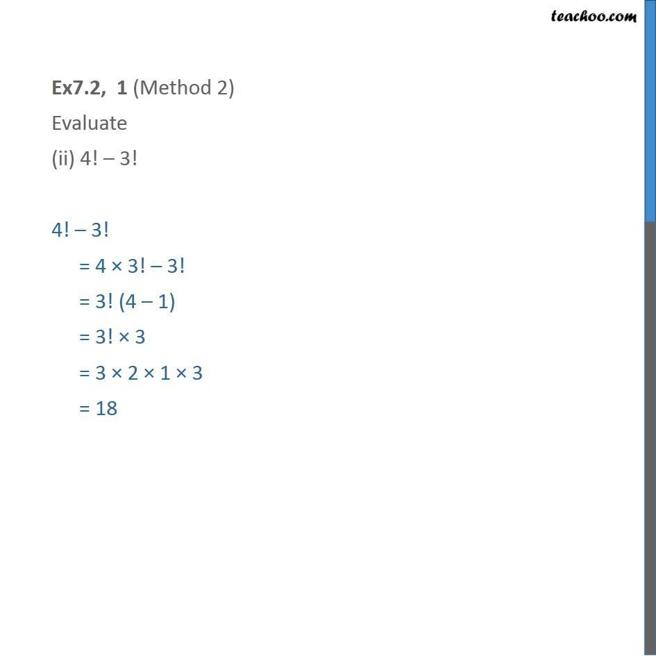 Ex 7.2,1 - Chapter 7 Class 11 Permutations and Combinations - Part 3
