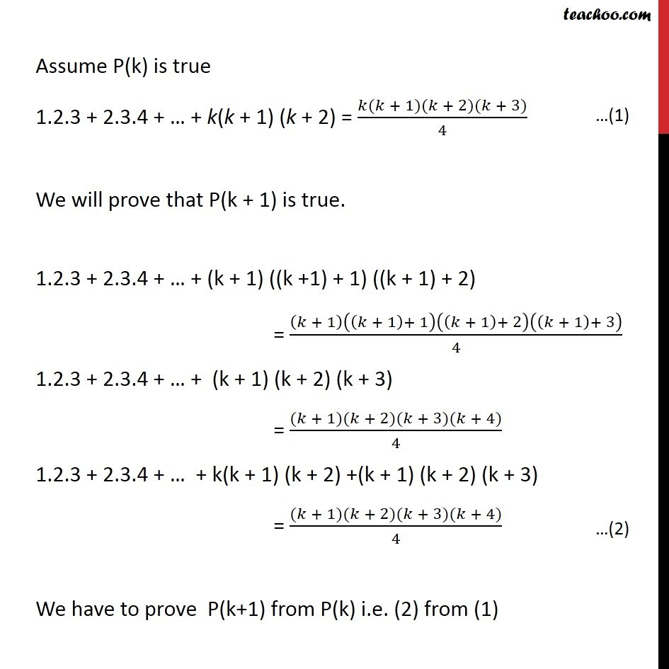 Ex 4.1, 4 - Chapter 4 Class 11 Mathematical Induction - Part 2