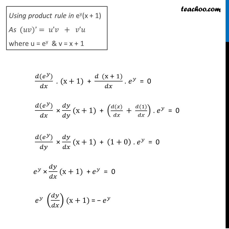 Ex 5.7, 16 - Chapter 5 Class 12 Continuity and Differentiability - Part 2