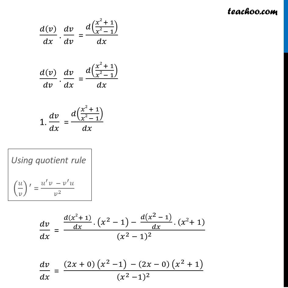 Ex 5.5, 10 - Chapter 5 Class 12 Continuity and Differentiability - Part 5