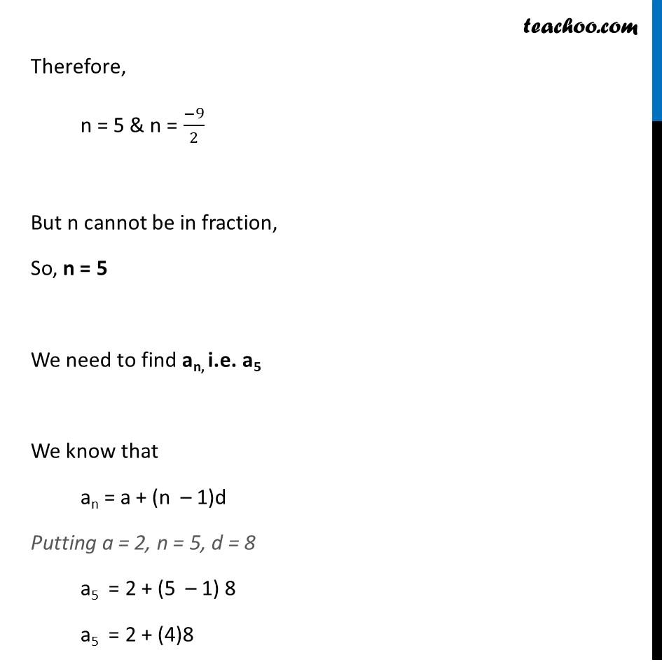 Ex 5.3, 3 - Chapter 5 Class 10 Arithmetic Progressions - Part 15