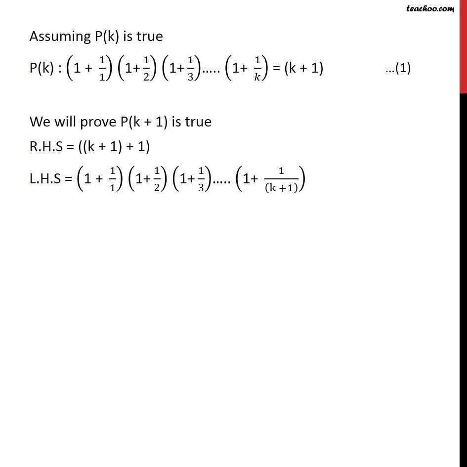 Ex 4.1, 14 - Chapter 4 Class 11 Mathematical Induction - Part 2