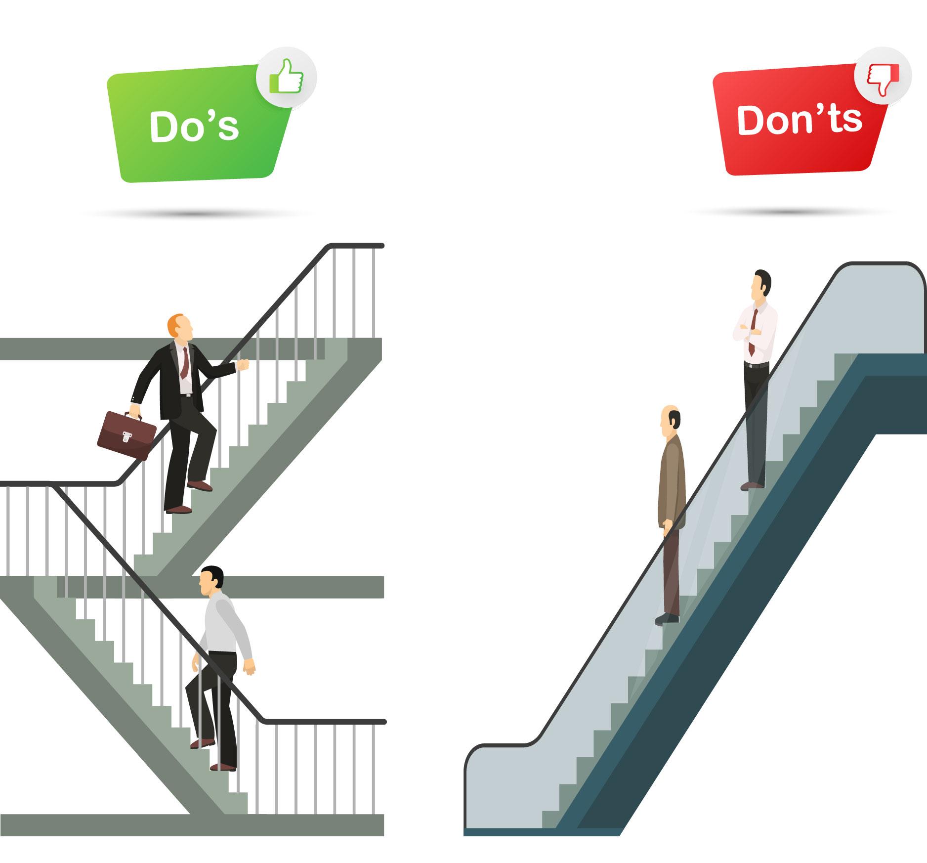 using stairs instead of elevator-01.jpg