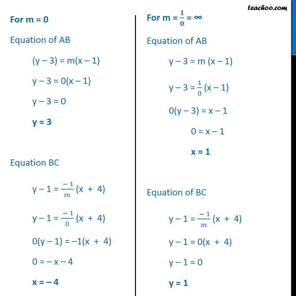 Misc 17 - Chapter 10 Class 11 Straight Lines - Part 4