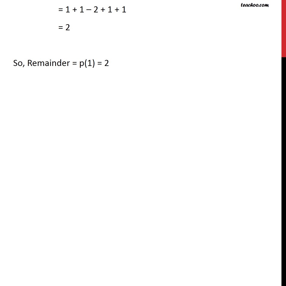 Example 9 - Chapter 2 Class 9 Polynomials - Part 2