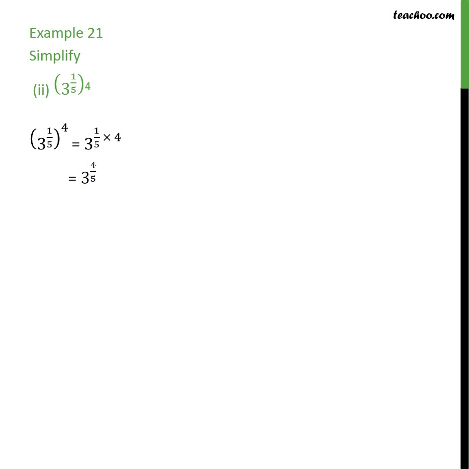 Example 21 - Chapter 1 Class 9 Number Systems - Part 2